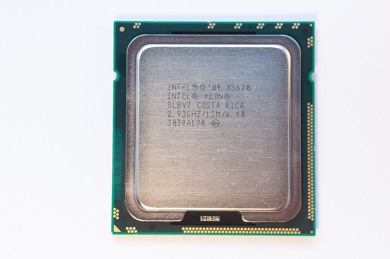 Intel Xeon x5670 for Mac Pro 4,1 2009 and 5,1 2010, 2011, 2012