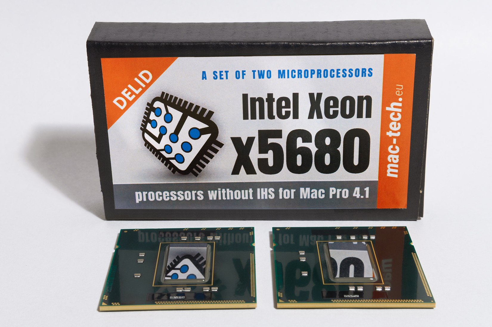 Mac-Tech - Intel Xeon 5680 processors for Mac Pro 4,1 2009 without IHS (delid) Xeon HEX-Core x5690, Xeon x5680, Xeon x5675, Xeon x5670 six cores