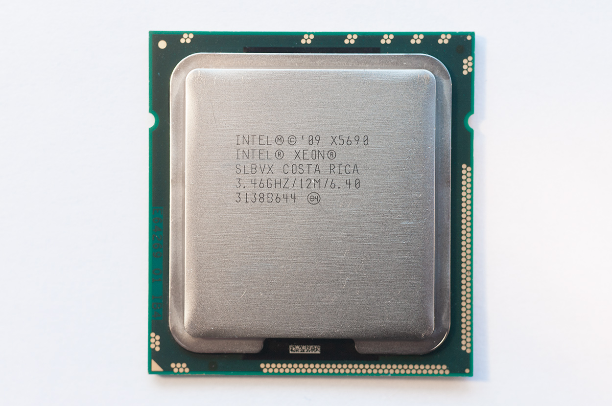 Intel Xeon x5690 for Mac Pro 4,1 2009 and 5,1 2010, 2011, 2012