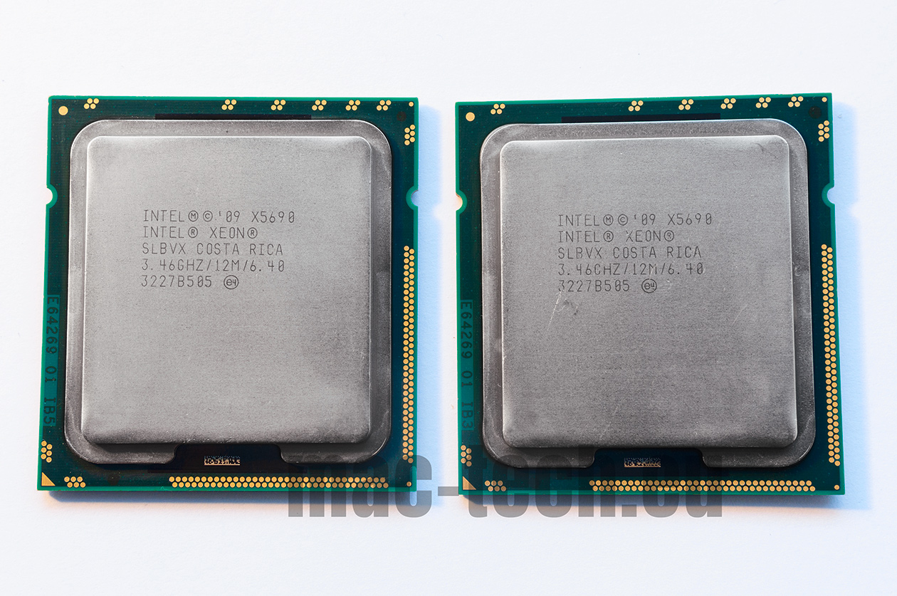 Intel Xeon x5690 matching pair for Mac Pro 5,1 2010, 2011, 2012